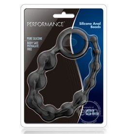 BLUSH NOVELTIES PERFORMANCE SILICONE ANAL BEADS 10 INCHES