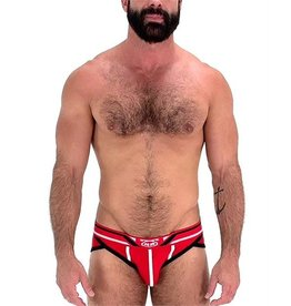 NASTY PIG NP BRIEF, AXIAL,RED,SM