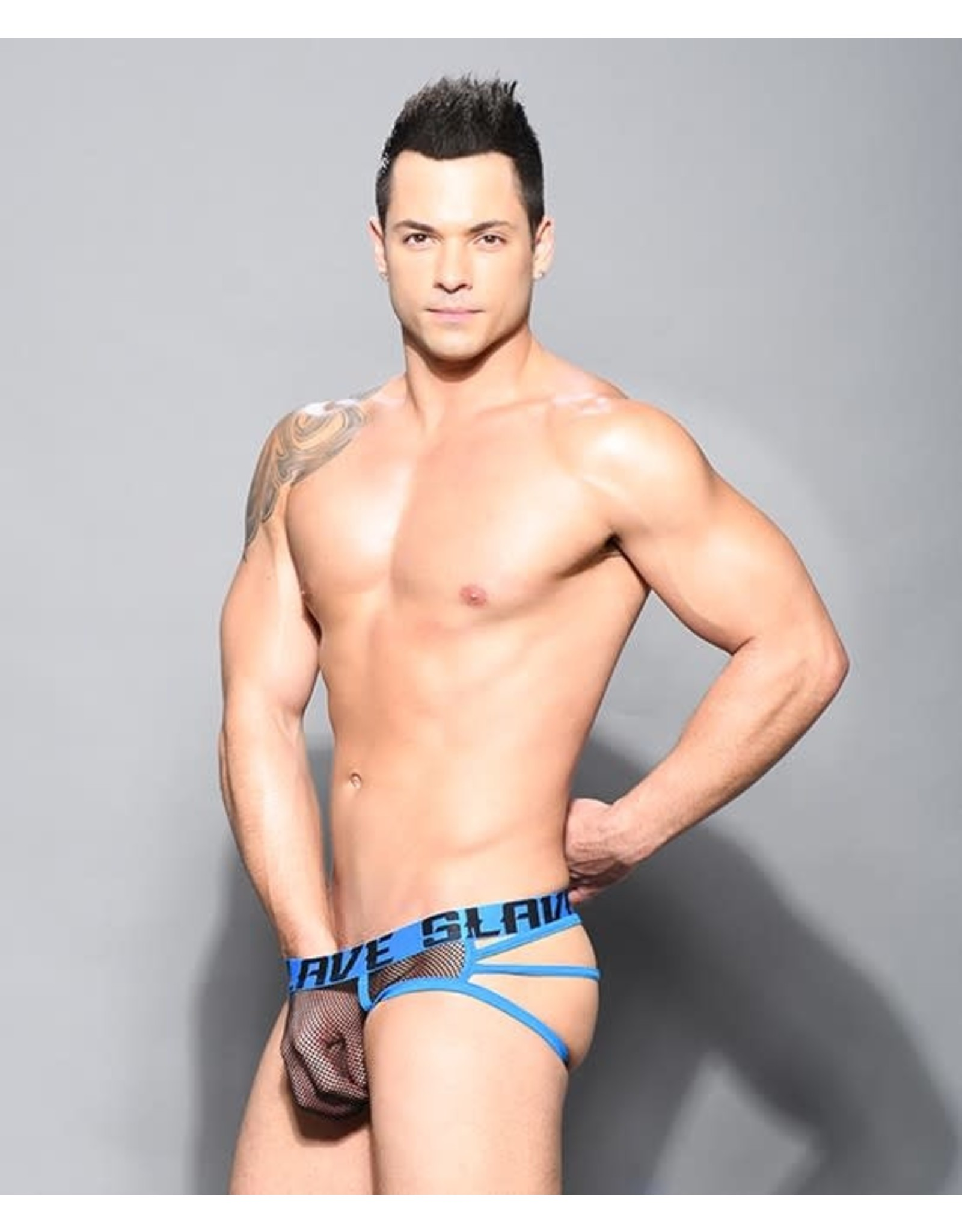 ANDREW CHRISTIAN ANDREW CHRISTIAN SLAVE NET WEB THONG W/ ALMOST NAKED