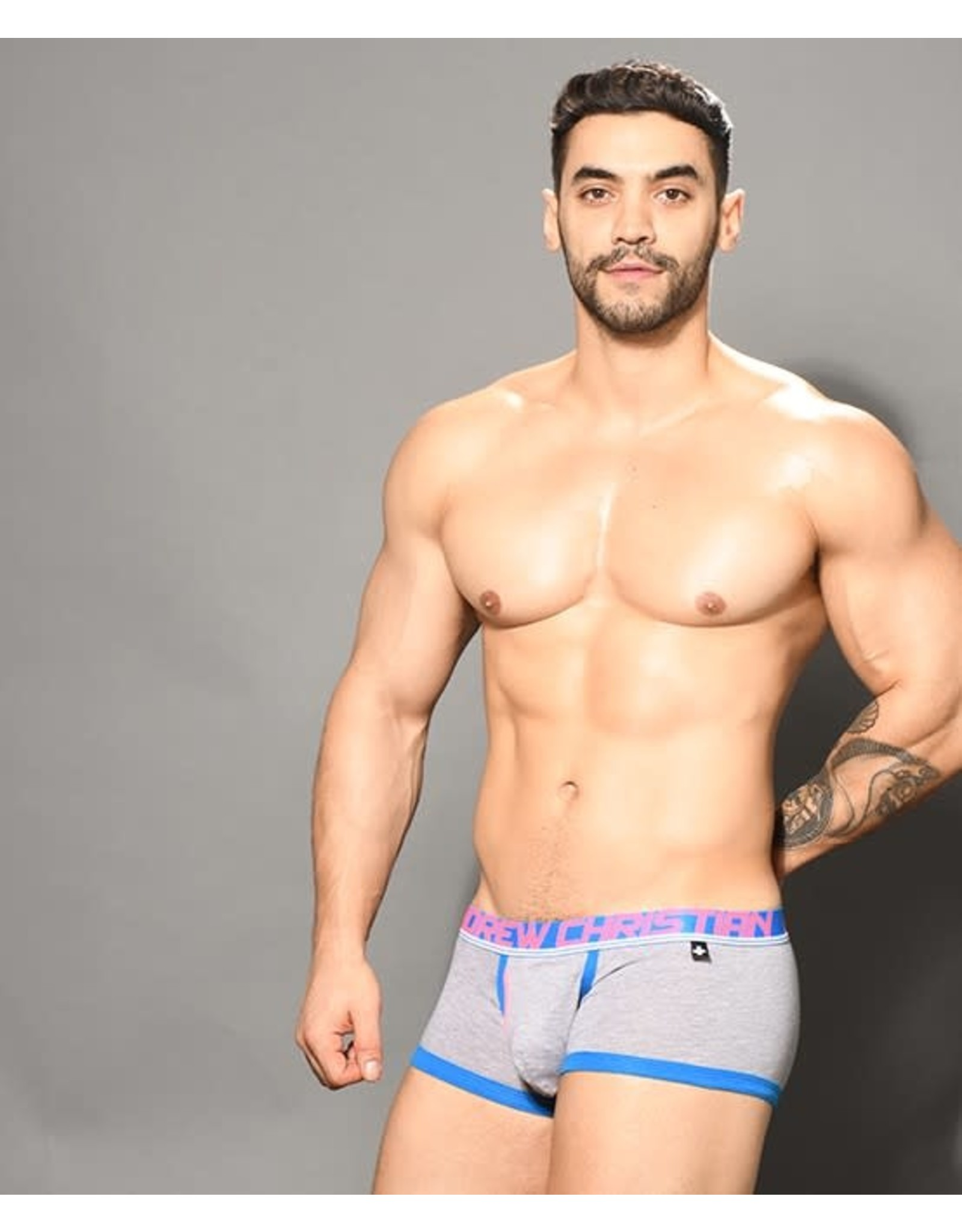 ANDREW CHRISTIAN ANDREW CHRISTIAN FLY TAGLESS BOXER W/ ALMOST NAKED