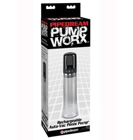 PIPEDREAM PUMP WORX RECHARGE AUTO VAC PUMP