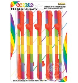 PIPEDREAM PRODUCTS RAINBOW PECKER STRAWS