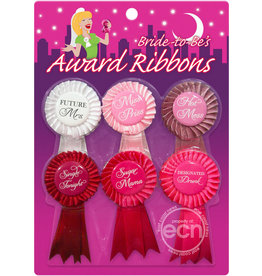 PIPEDREAM BRIDE TO BE, AWARD RIBBONS