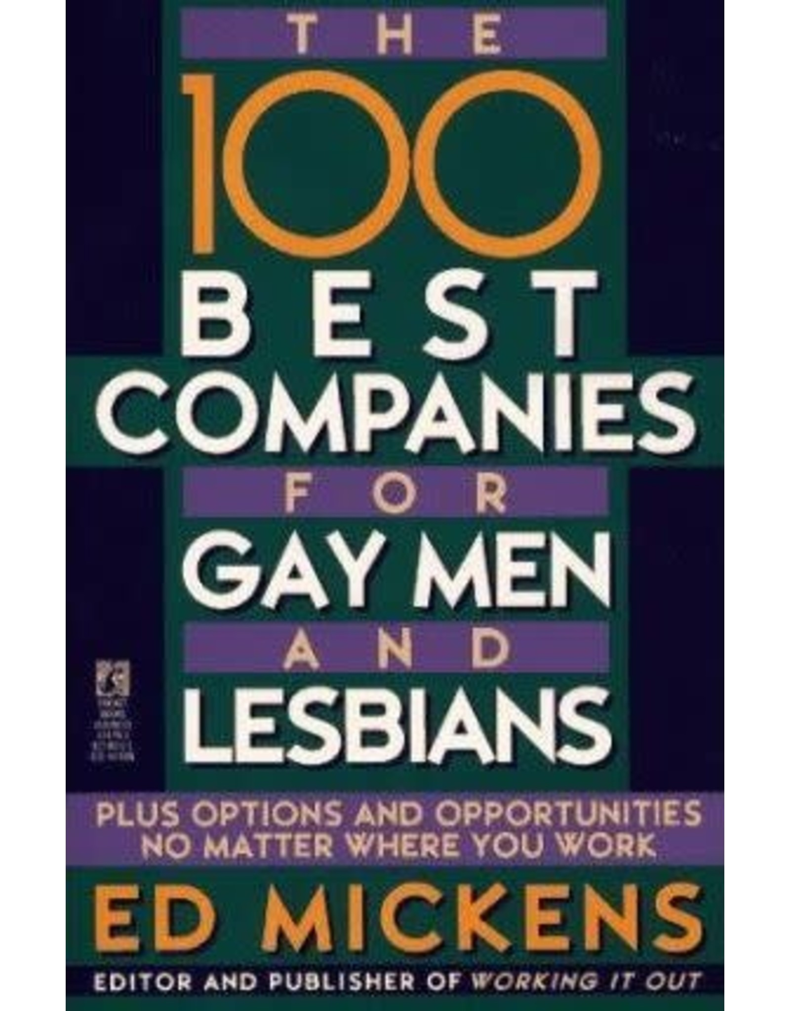 100 BEST COMPANIES FOR GAY MEN & LESBIA
