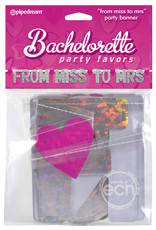 PIPEDREAM BACHELORETTE PARTY FAVORS FROM MISS TO MRS BANNER