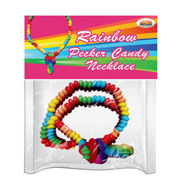 Hott Products RAINBOW PECKER CANDY NECKLACE