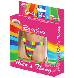 Hott Products Rainbow Men's Thong