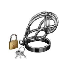 XR Brands CHASTITY, MS, CAPTUS LOCKING CAGE