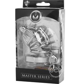 XR Brands MASTER SERIES REPRESSOR LOCKING CHASTITY CAGE
