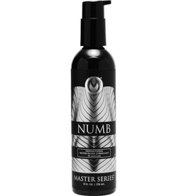 XR Brands MASTER SERIES NUMB  WATER BASE 8oz