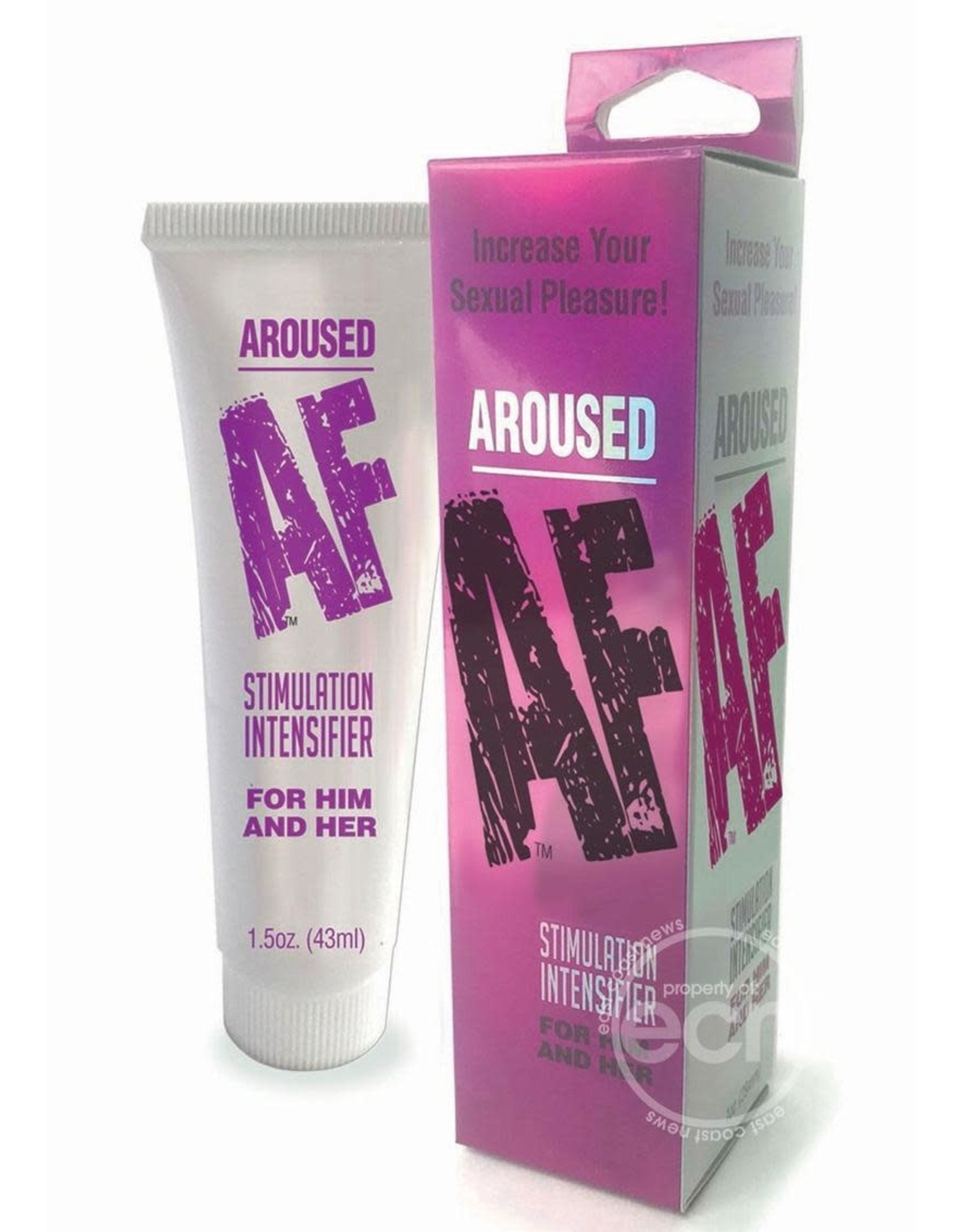 Little Genie Productions AROUSED AF CREAM STIMULATOR FOR HIM AND HER