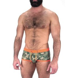 NASTY PIG NASTY PIG CAMO SQ CUT GREEN LARGE
