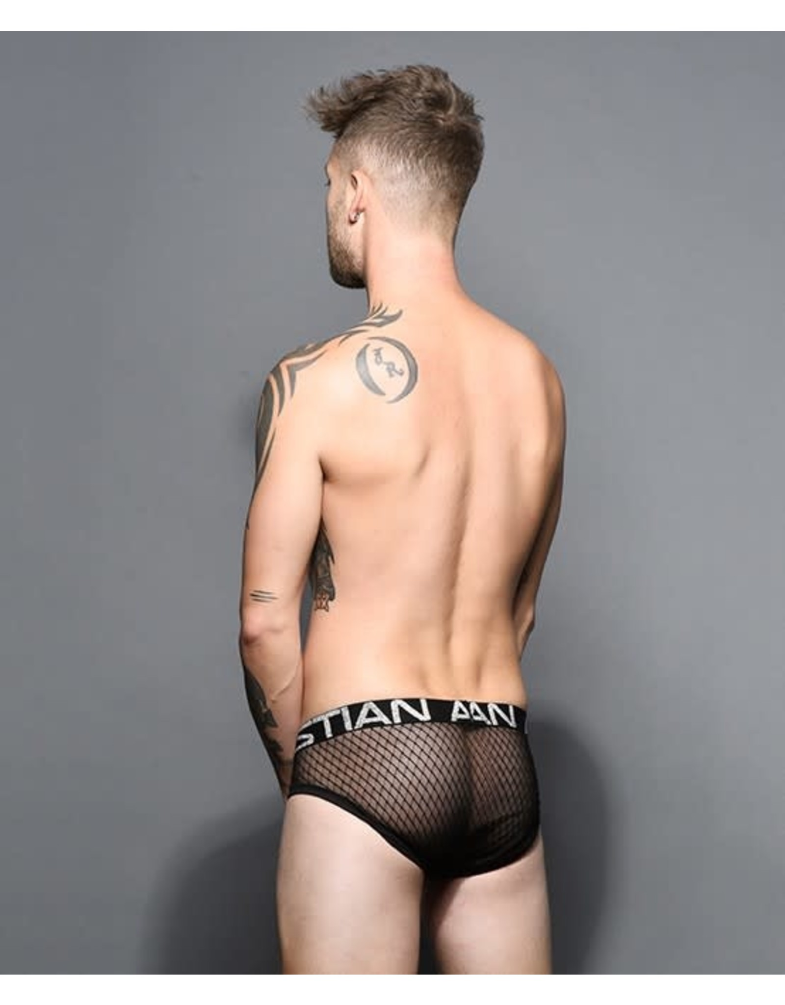 ANDREW CHRISTIAN ANDREW CHRISTIAN SEXY LACE BRIEF W/ ALMOST NAKED