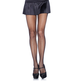 LEG AVENUE FISHNET PANTYHOSE PLUS SIZE BLACK