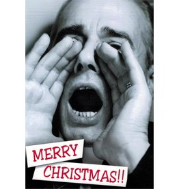 10% PRODUCTIONS X MAS CARD MALE YELLING, MERRY CHRISTMAS!!