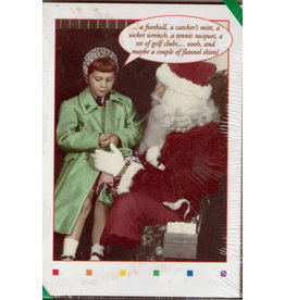 X-MAS CARD FLANNEL SHIRTS