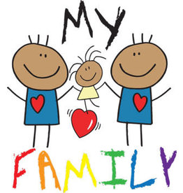 RAINBOW MY FAMILY MALES 7 TODDLER