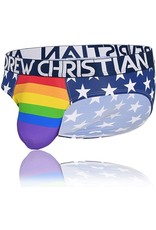 ANDREW CHRISTIAN ANDREW CHRISTIAN STAR PRIDE BRIEF