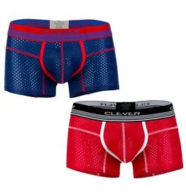 CLEVER WEAR CLEVER, BOXER DANISH,RED, SMALL