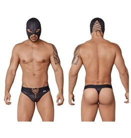 CANDYMAN CANDYMAN WRESTLER OUTFIT BLACK, Small