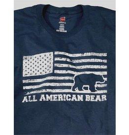 BURLY SHIRTS BURLY ALL AMERICAN BEAR BLUE