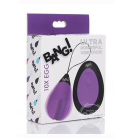 XR Brands BANG 10X RECHARGEABLE EGG
