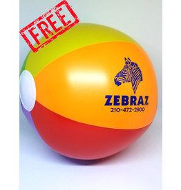 ZEBRAZ ZEBRAZ BEACH BALL