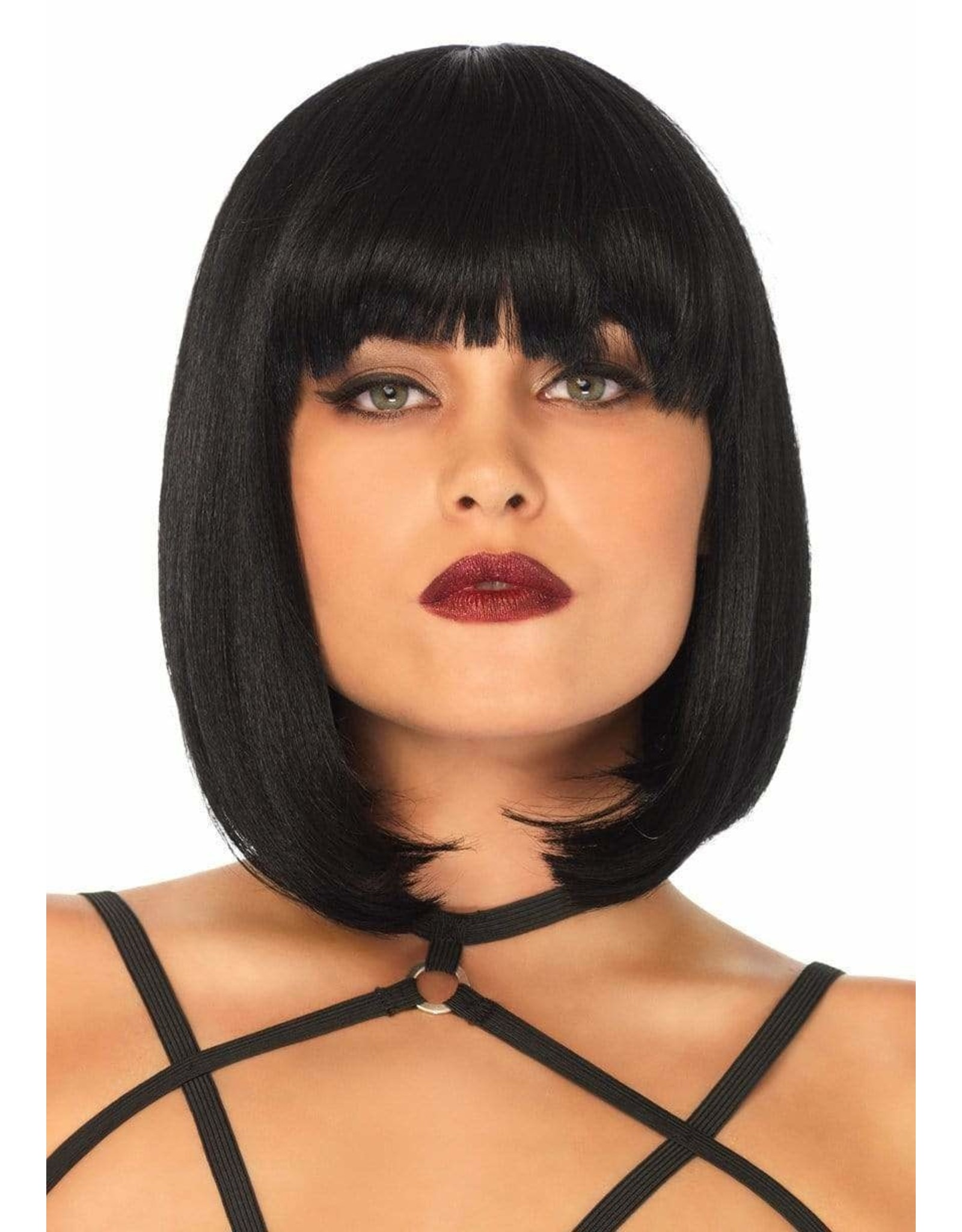 "LEG AVENUE 14"" SHORT NATURAL BOB WIG"