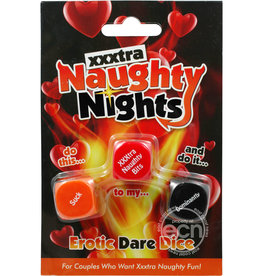 CREATIVE CONCEPTS XXXTRA NAUGHTY NIGHTS EROTIC DICE
