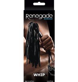 Renegade RENEGADE BONDAGE WHIP BLACK