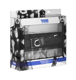 XR Brands TOM OF FINLAND NEOPRENE COLLAR W/LOCK