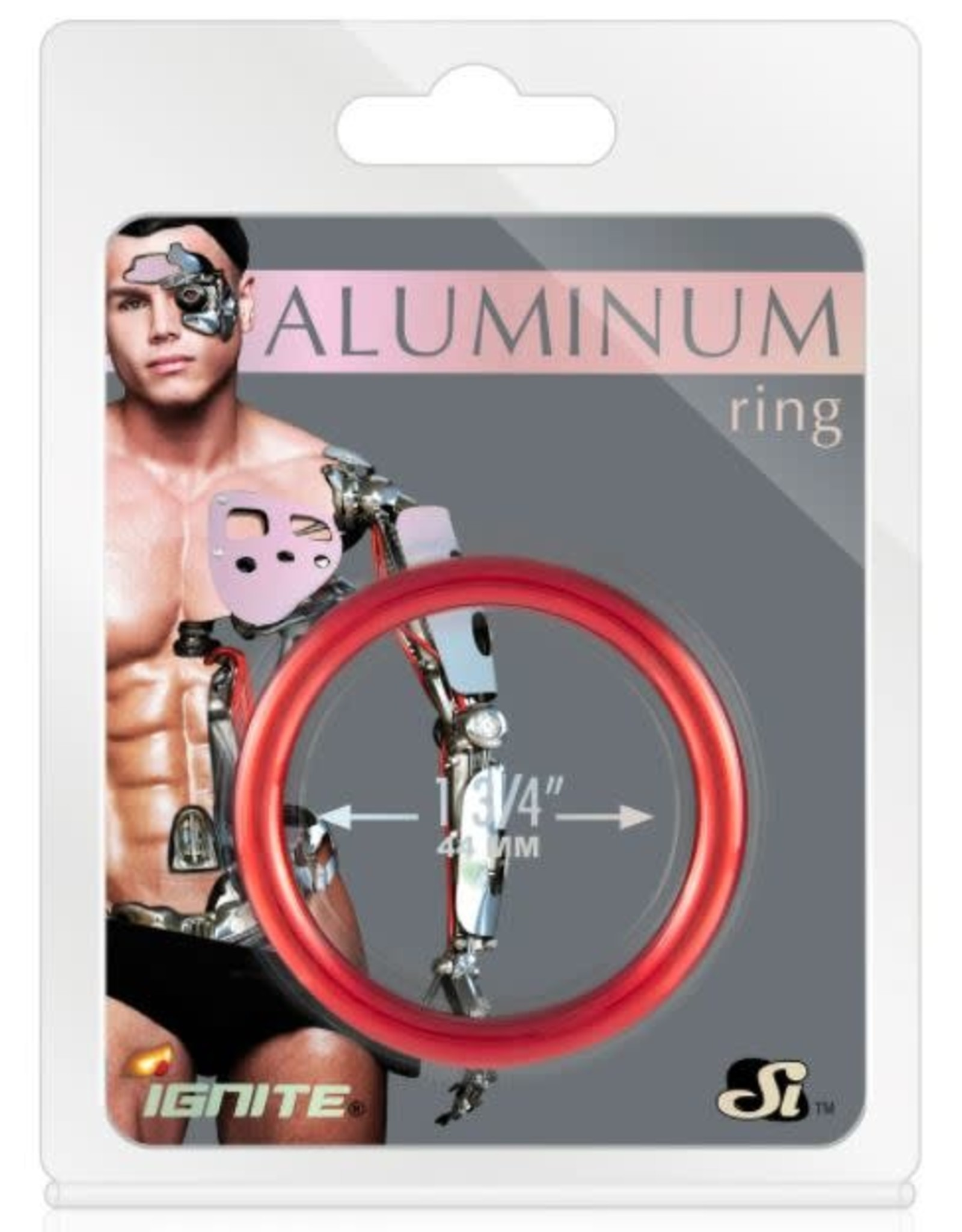 IGNITE ANODIZED ALUMINUM RING RED