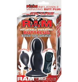 NASSTOYS RAM INFLATABLE VIBRATING PLUG