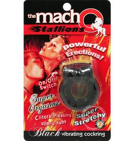 Macho MACHO STALLIONS VIBRATING BLACK