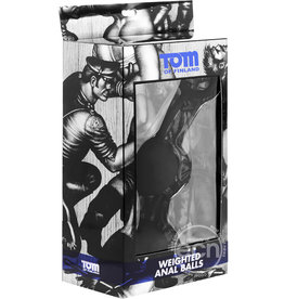 """Tom of Finland TOM OF FINLAND  WEIGHTED ANAL BALLS 2.25"""""""