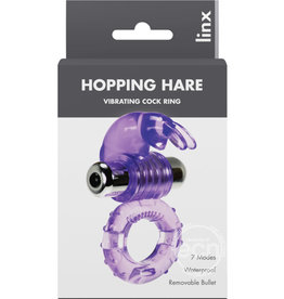 ABS SALES LINX HOPPING HARE VIBRATING COCKRING
