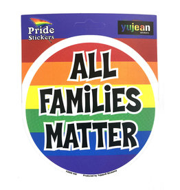 RAINBOW ALL FAMILIES MATTER STICKER