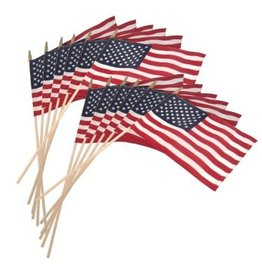 UNITED STATES FLAG SMALL ON STICK