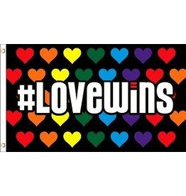 RAINBOW LOVE WINS FLAG