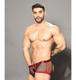 ANDREW CHRISTIAN ANDREW CHRISTIAN MASTER NET AIR BOXER W/ ALMOST NAKED XL