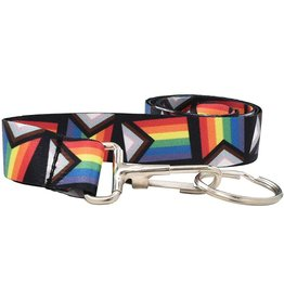 RAINBOW PROGRESS PRIDE LANYARD