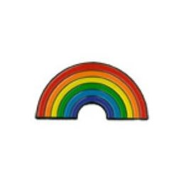 Pride not Prejudice RAINBOW ARCH LAPEL PIN