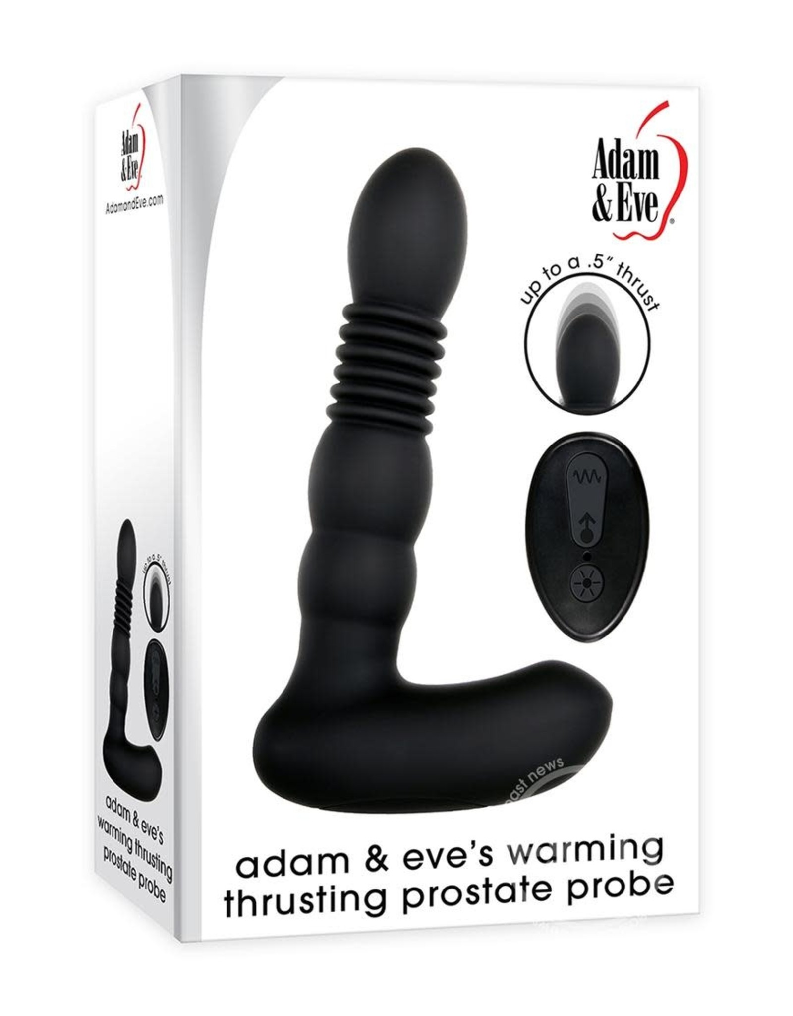 ADAM & EVE ADAM & EVES WARMING THRUSTING PROSTATE PROBE