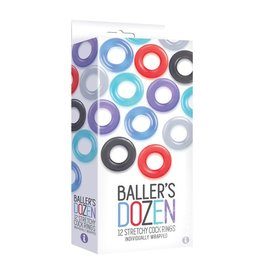 ICON BRANDS THE 9 BALLERS SINGLE COCKRING