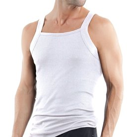 PAPI PAPI 559102-100 SQUARE NECK TANK WHITE