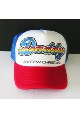 ANDREW CHRISTIAN ANDREW CHRISTIAN DADDY TRUCKER CAP