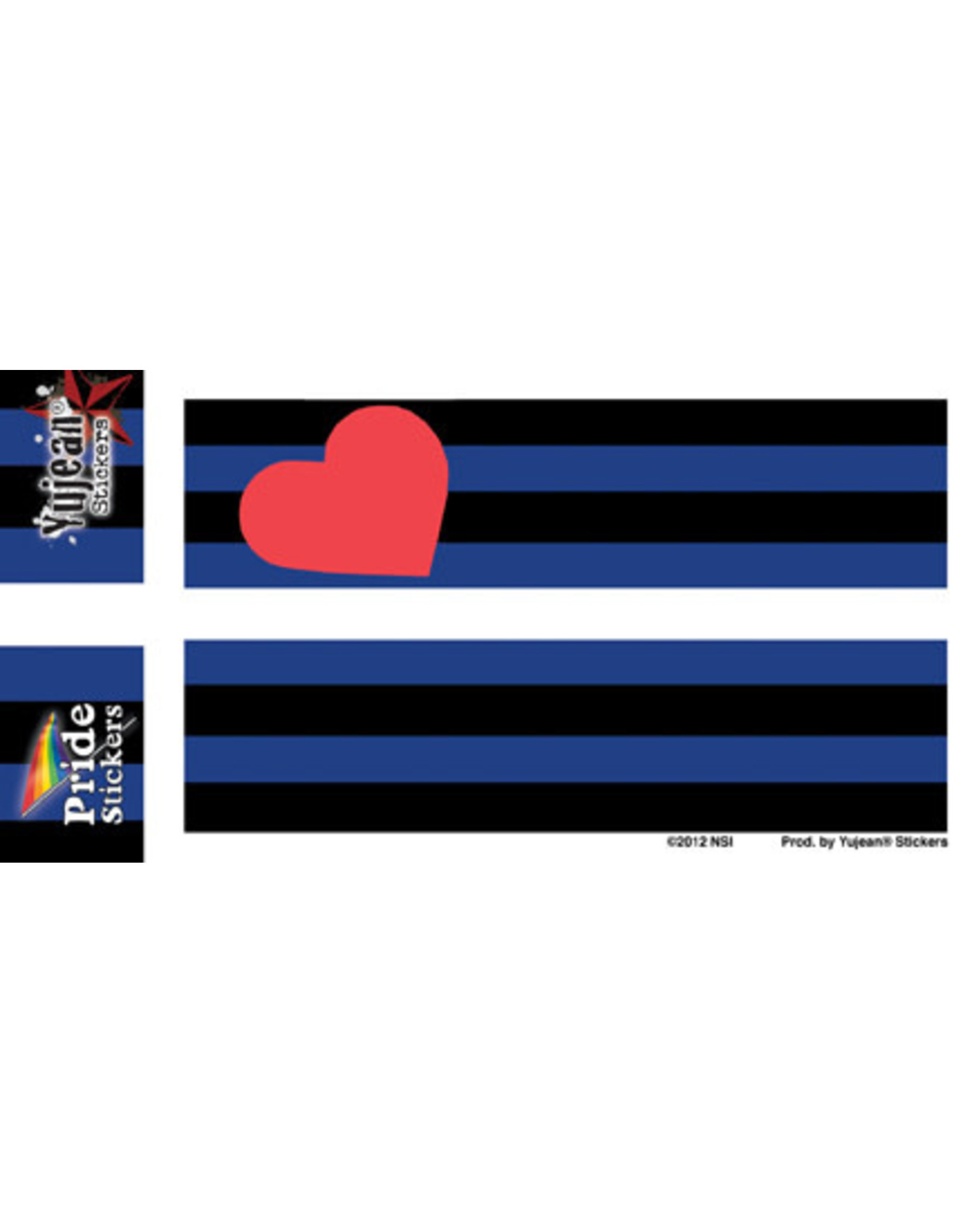"""YUJEAN BDSM LEATHER AND FETISH FLAG 5"""" x 3.75"""""""