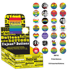 YUJEAN PRIDE BUTTONS ASSORTED (SINGLE)