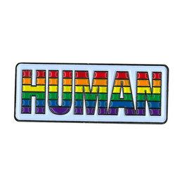 YUJEAN HUMAN RAINBOW LAPEL PIN
