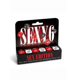 Creative Conceptions SEXY 6 SEX ED DICE GAME